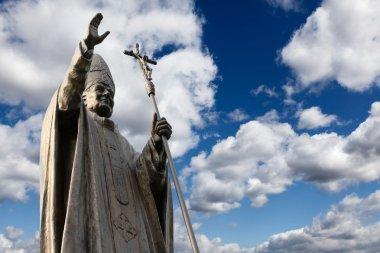 Statue of Pope John Paul II