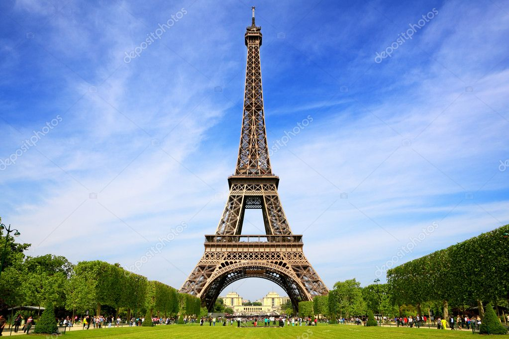 Eiffel Tower, symbol of Paris