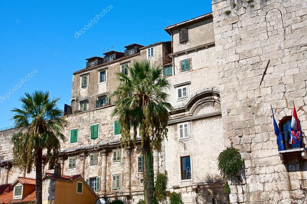 Ancienne architecture de la ville de split croatie for Architecture ancienne
