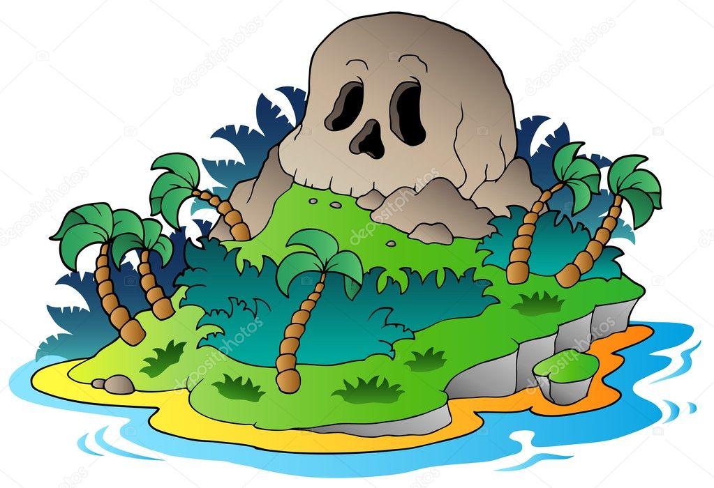 u00eele de cr u00e2ne de pirate image vectorielle 5755698 pirate skull clipart kids clipart skull and crossbones pirate