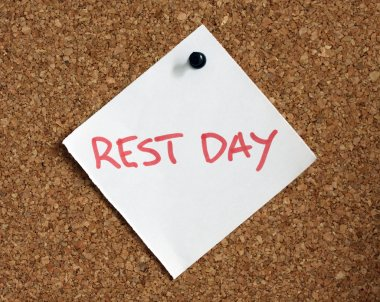 Rest day reminder