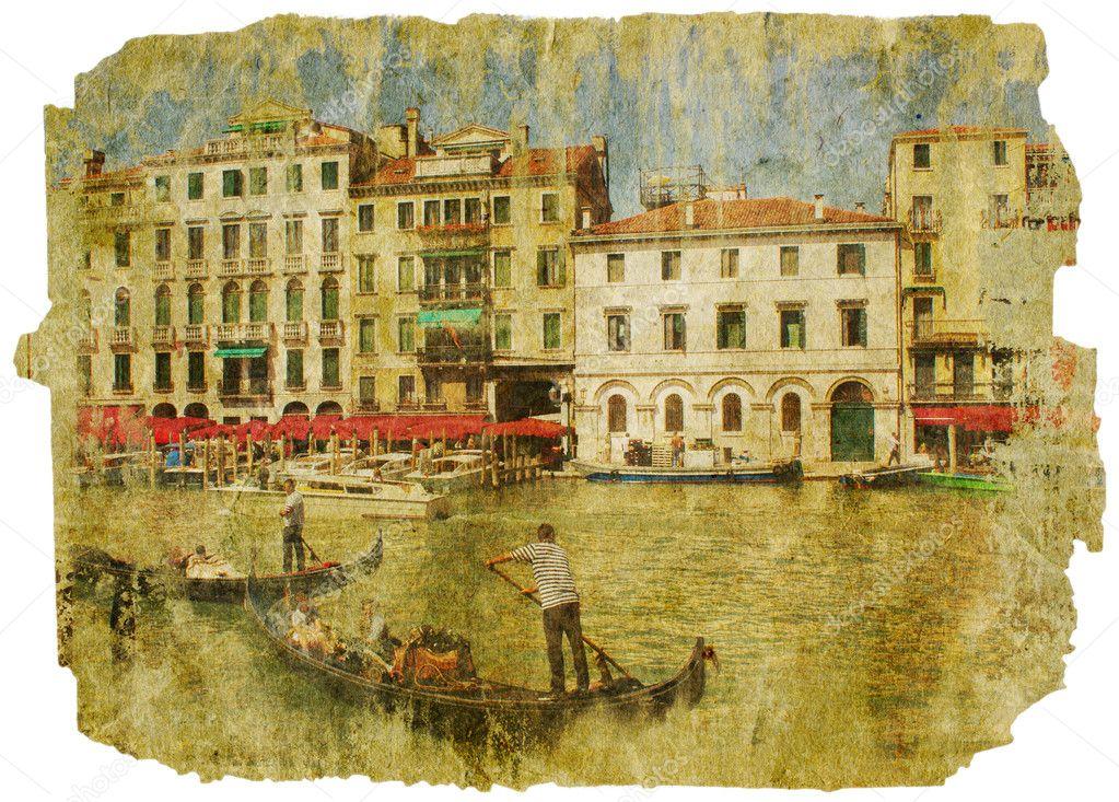 Veneza - Marcos italianos grandes — Stock Photo © standart #5577141