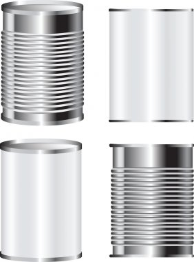 metal tin can food packaging