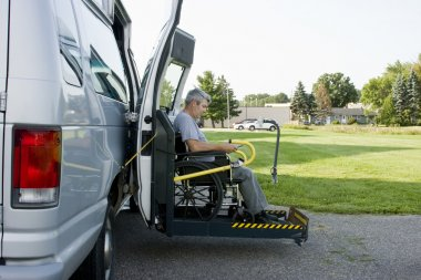 Disability conversion van