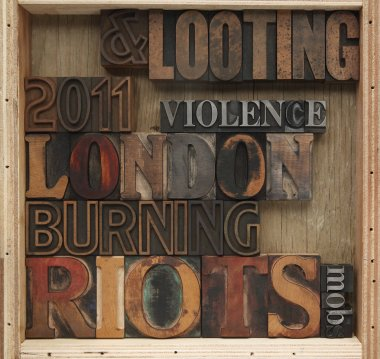 Riots, looting words