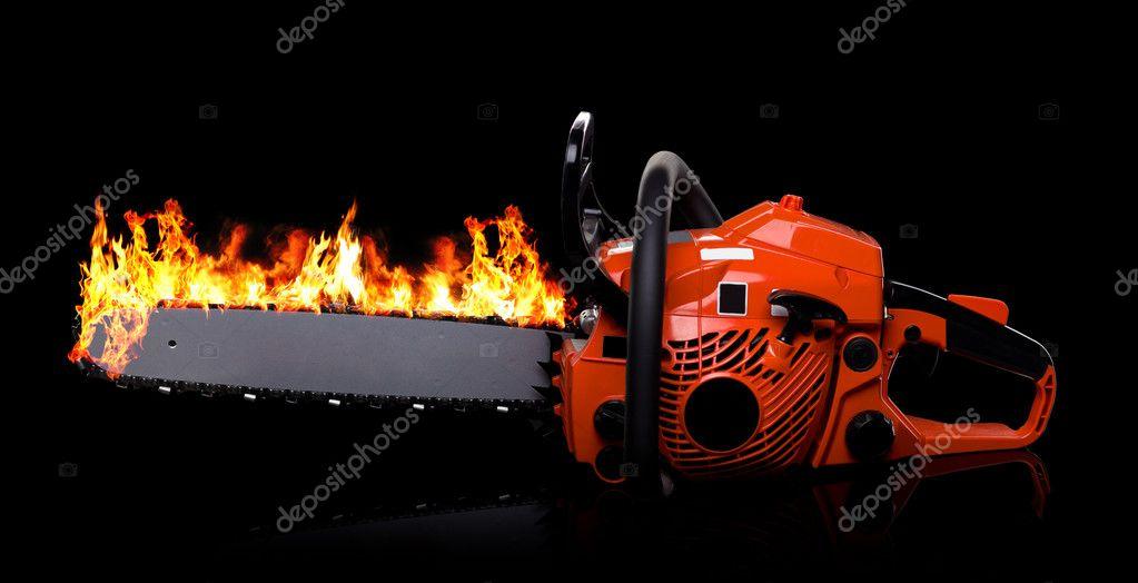 Kettensäge — Stockfoto © wacpan #6285477