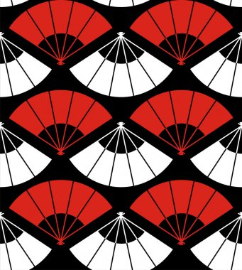 Japan fan abstract background