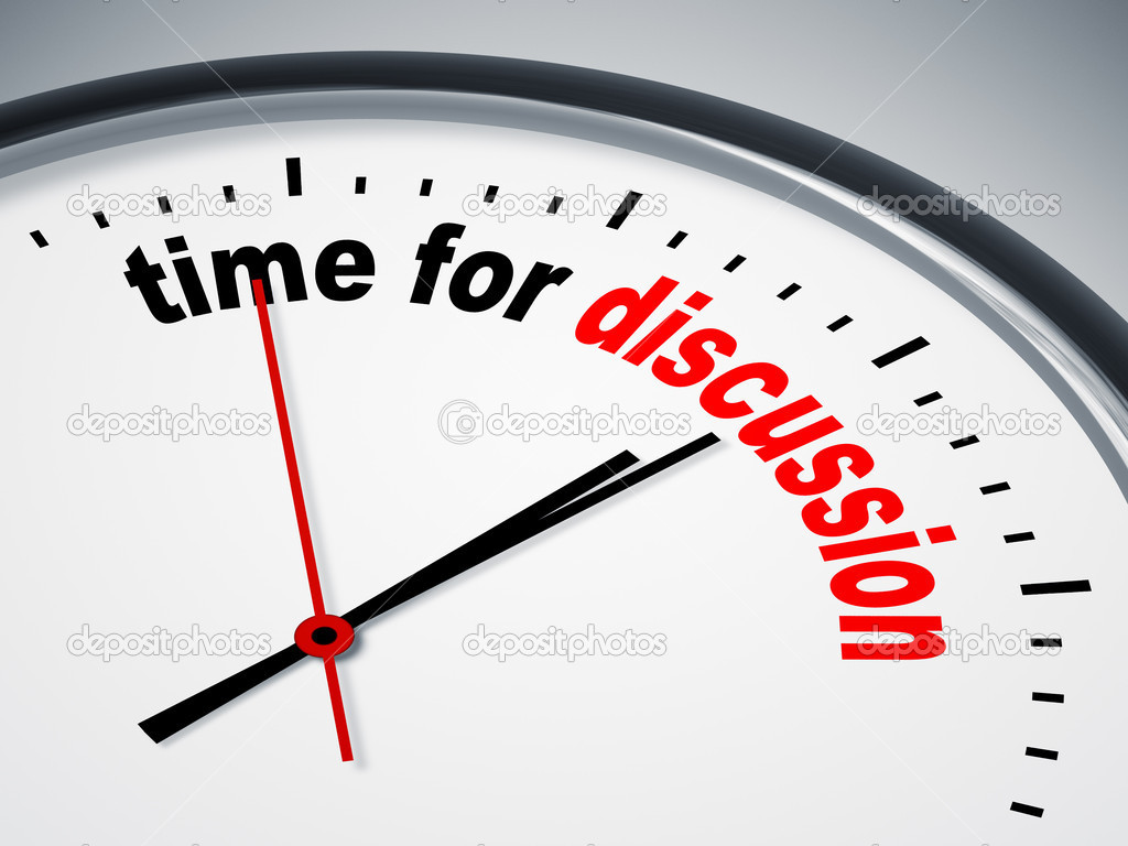 Time for discussion stock photo magann 5831028 for Time for business