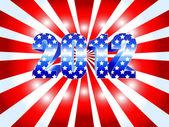 Sunburst prezidentské volby 2012