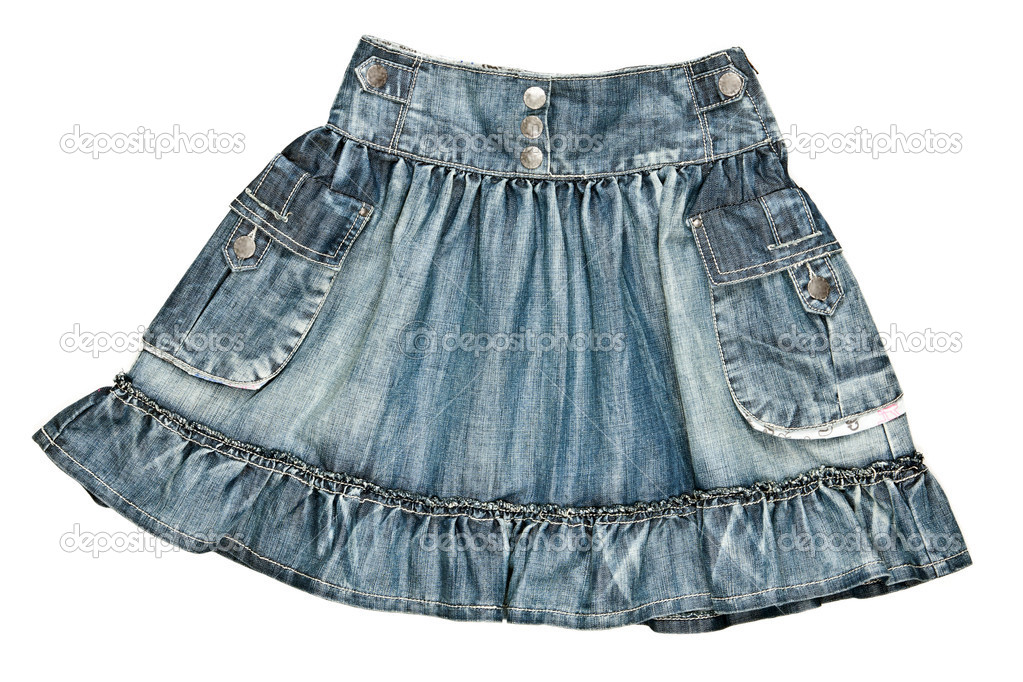 8534c9f466f7 Γυναικεία φούστα τζιν — Φωτογραφία Αρχείου © Ruslan  5763797