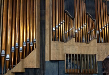 Copper pipe organ music tool to be