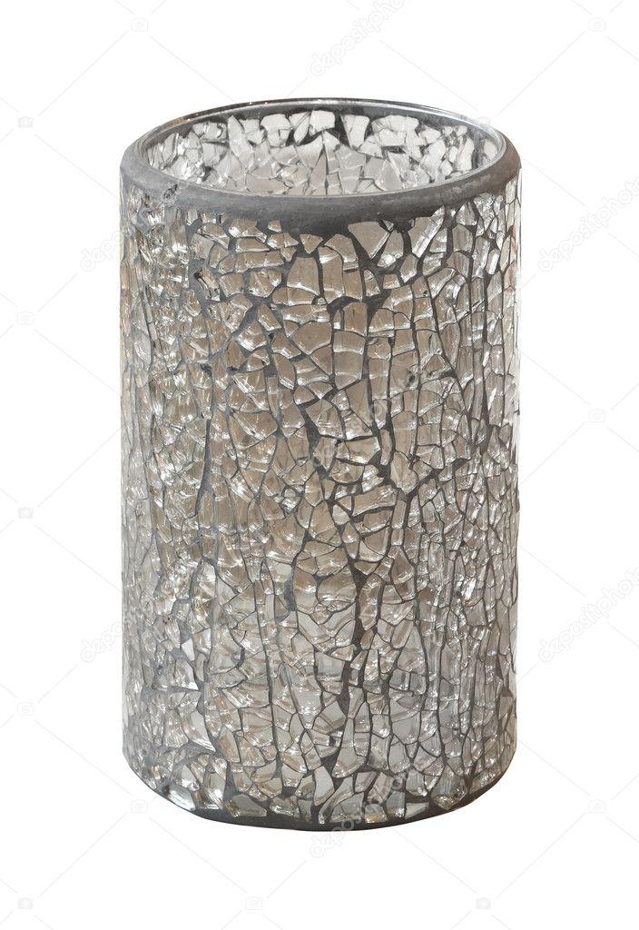 broken glass vase stock image - Broken Glass Vase