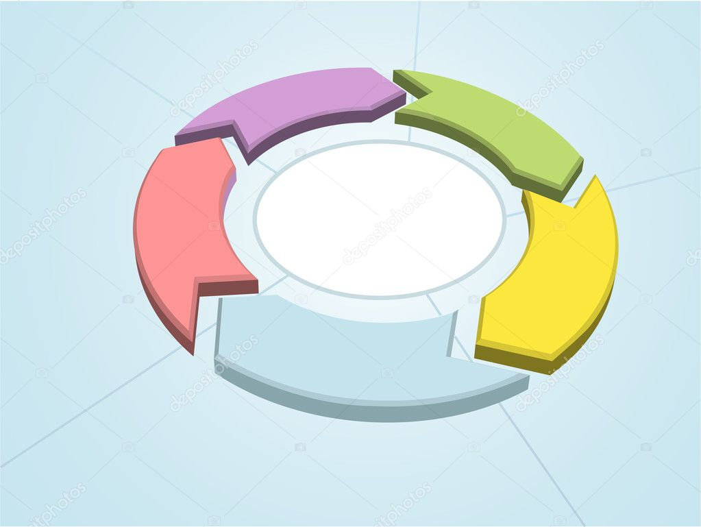 Process cycling arrow by arrow royalty free stock images image - Workflow Cycle Process Management Arrows Circle Stock Illustration