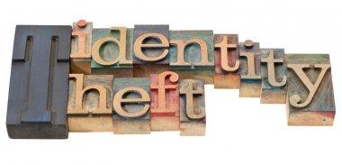 Identity theft in letterpress type