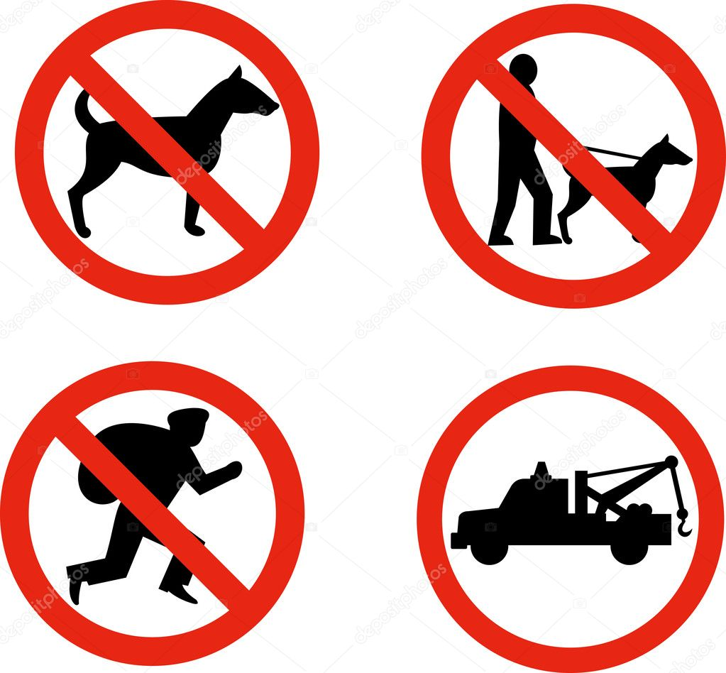 Road signs no dogs towing anti theft stock photo patrimonio road signs no dogs towing anti theft stock photo buycottarizona