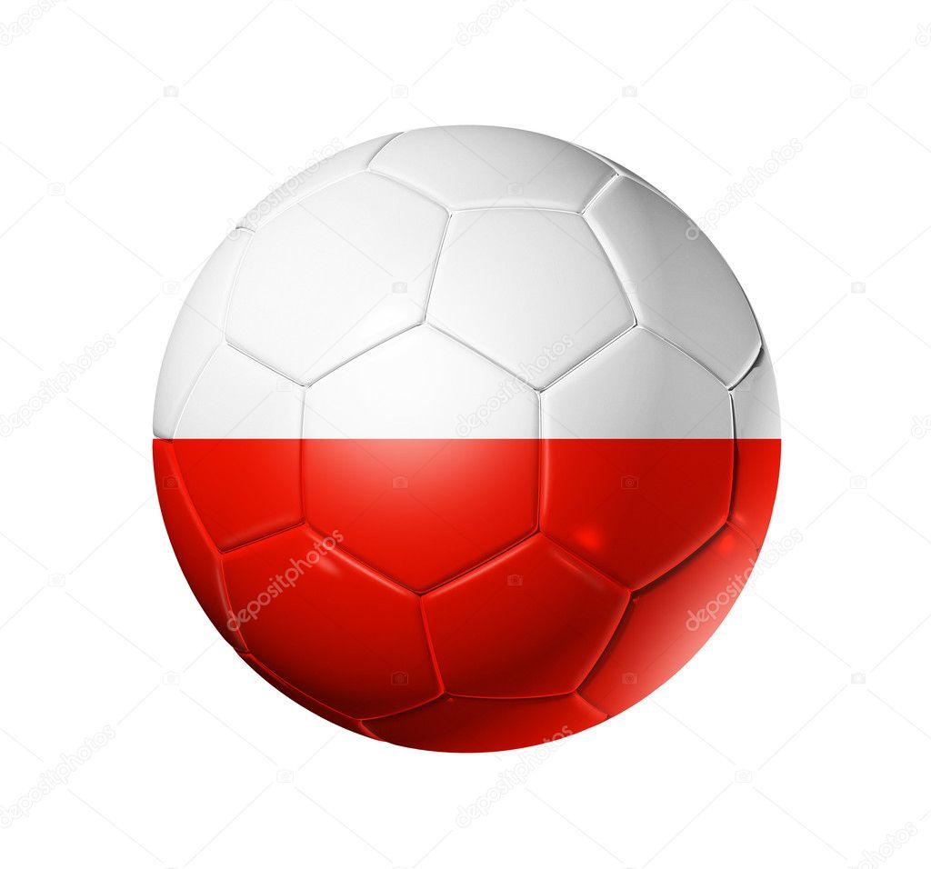 soccer football ball with poland flag u2014 stock photo daboost 5697519