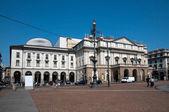 teatro alla scala v Miláně, Itálie