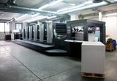 Fotografie Press printing - Offset machine