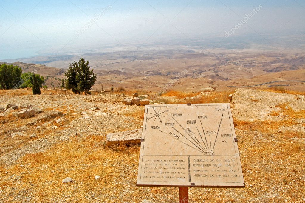 Look from Mount Nebo