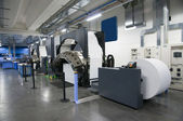 Fotografie Printing machine: digital web press