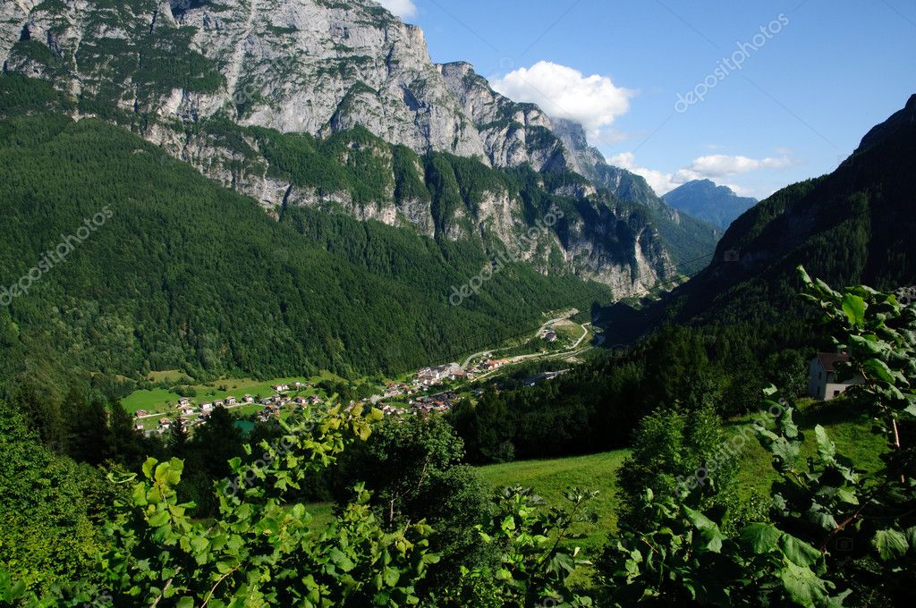 Mountain landscape, Dolomites