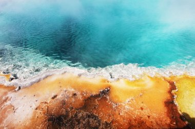 Hot pool texture