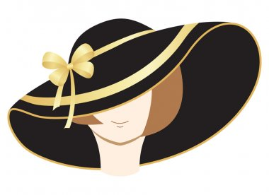 A woman in the bonnet