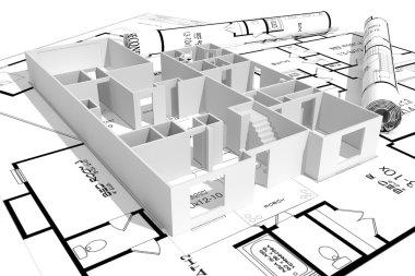 3d home plans concept