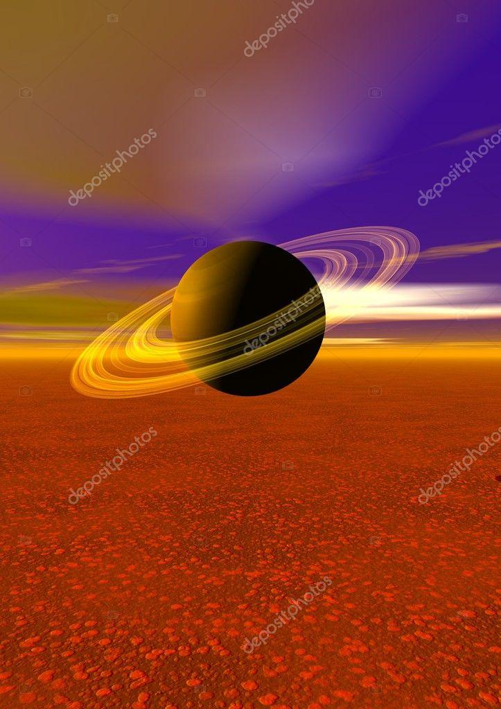 Planet yellow