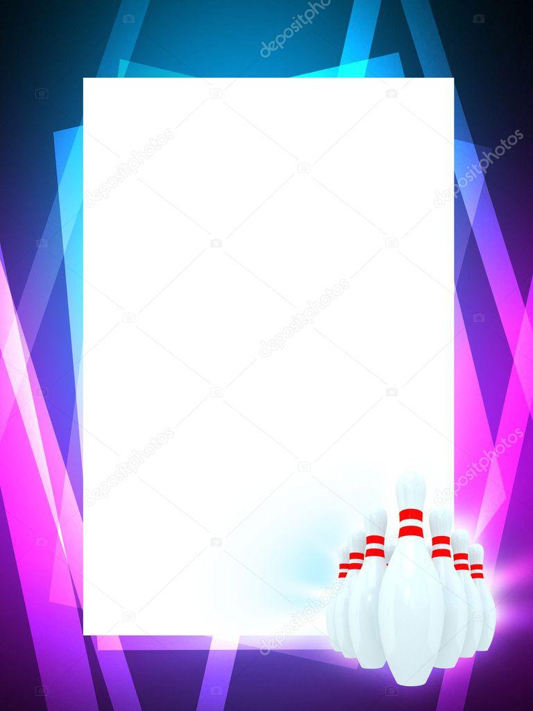 Bowling frame — Stock Photo © digiart #5636128