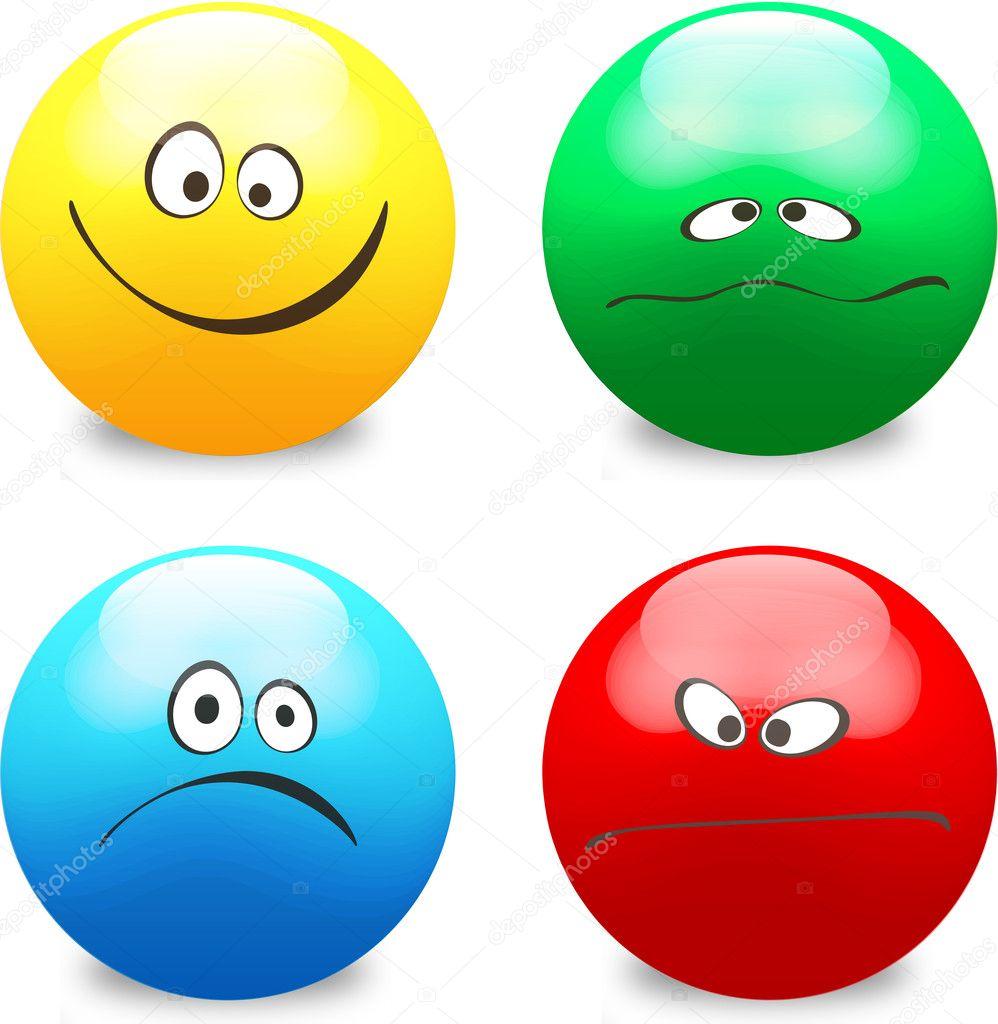 Smiley icon face