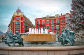 plaza massena platz in schön, frankreich