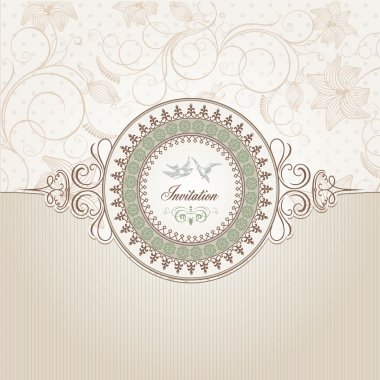 Vintage background template