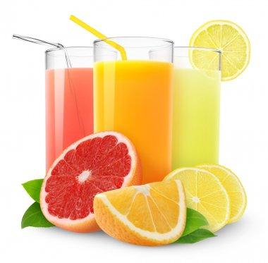 Fresh citrus juices