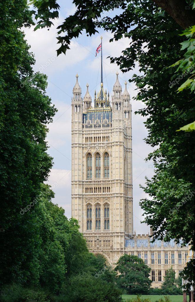 victoria turm h user des parlaments in london uk redaktionelles stockfoto photomaru 6121877. Black Bedroom Furniture Sets. Home Design Ideas