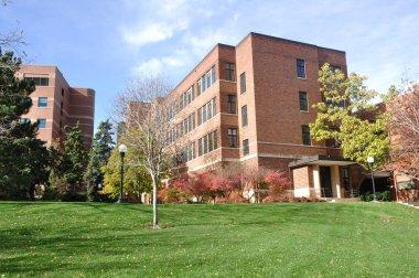 Brick Building on University Campus