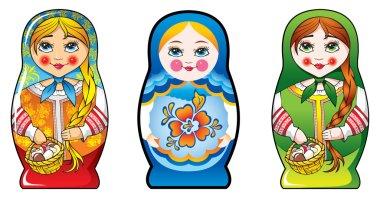 Russian nesting dolls – matryoshka