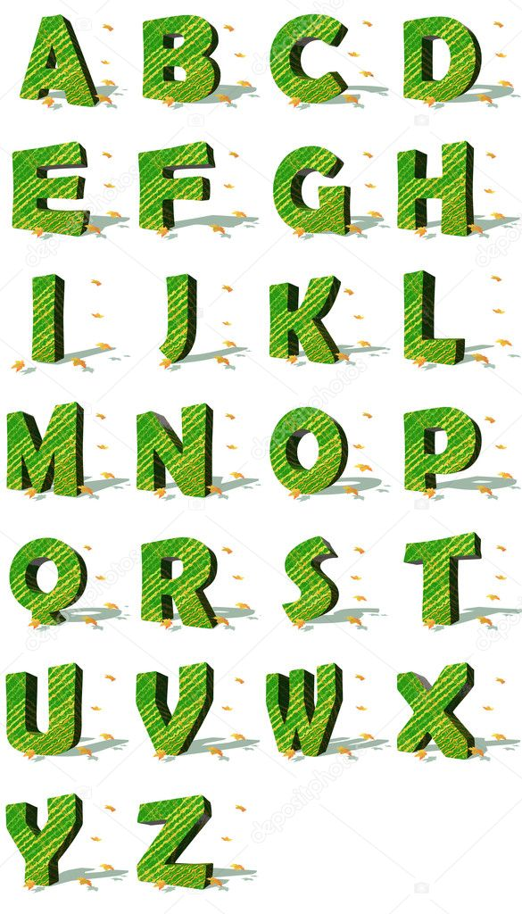 Ecological alphabet