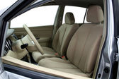 Fotografie přední sedadla moderní auto