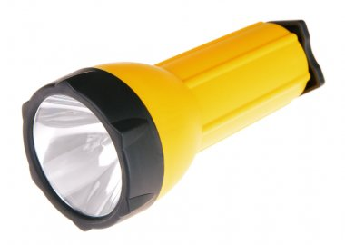 Yellow plastic lantern