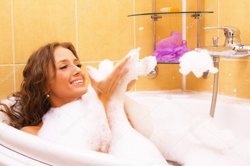 Фото в ванной женщины фото 95090 фотография