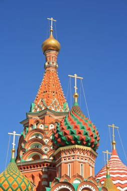 St. Basil's Cathedral at the Red Square