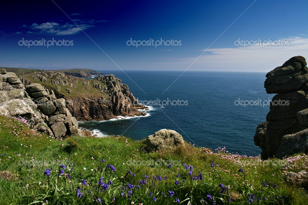 Seascape from near CarnBoel West Cornwall
