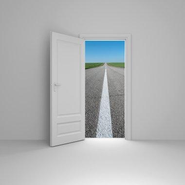 Door to new way