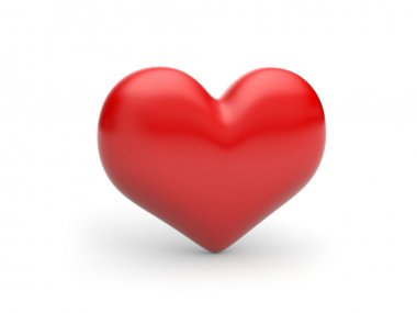 Red Heart! classical love symbol