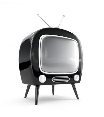 Stylish retro TV.