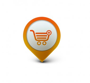Shopping web icon
