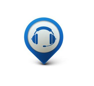Headset web icon