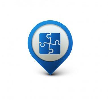 Puzzle web icon