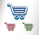 Fotografie nákupní web ikony